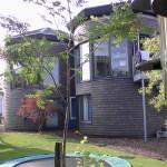 Woning - aanzicht vanuit tuin