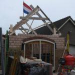 Tijdens bouw
